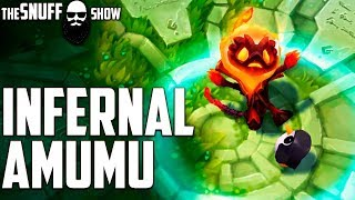 Инфернальный Амуму ● Infernal Amumu ● Обзор скина