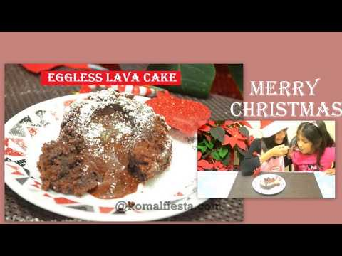 Lava Cake by my little Chef | Eggless Molten Choco Lava Cake | Easy Chocolate Molten Lava cake
