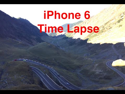 iPhone 6 Time Lapse Video Sample