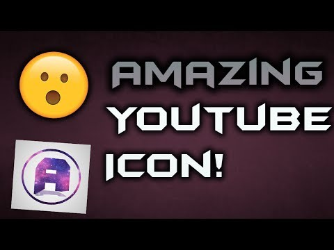 HOW TO MAKE AMAZING ICON | YOUTUBE | TWITTER | FACEBOOK | INSTAGRAM | ANYTHING | [2017]