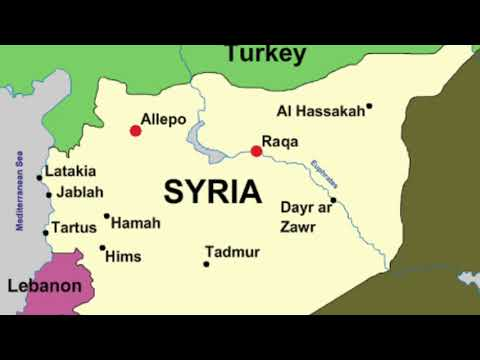 Syria Capstone Project - Sage Roylance