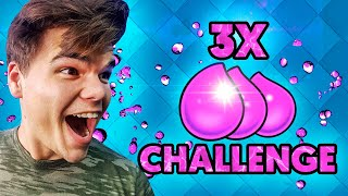 3X ELIXIR CHALLENGE! (Clash Royale)