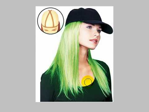 Adobe Photoshop CS4 - Changing Hair Colour (Easy Way)
