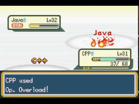 C++ VS Java - Pokemon battle