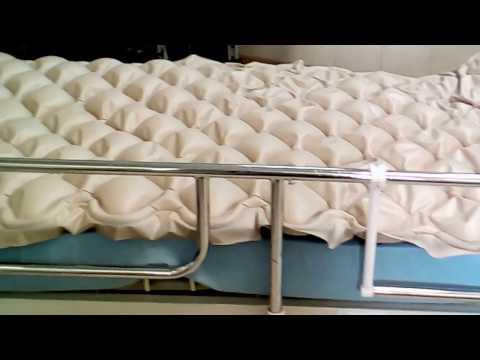 Bedsore - air mattress prevents pressure sores