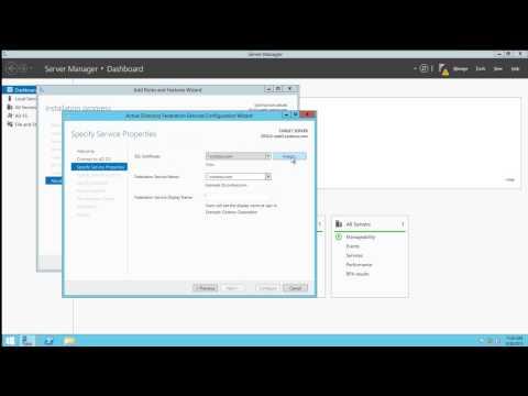 ADFS - Installing an AD FS Server Farm