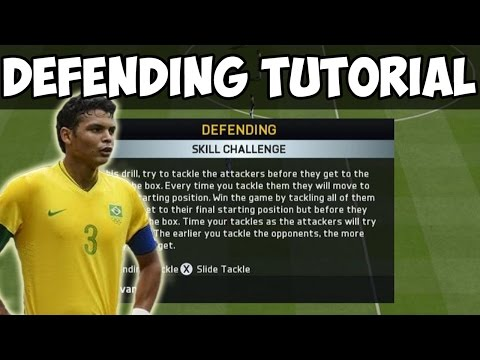 FIFA 15 Tutorials & Tips | Defending #1 Score in World Skill Challenge | How to Defend (Jockey Help)