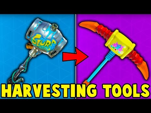 5 HARVESTING TOOLS YOU NEED TO BUY in Fortnite! (u must buy these pickaxes)
