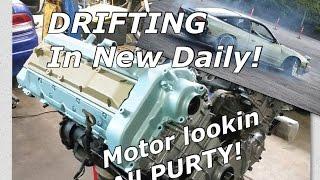 cheap ls 5 3 240sx daily drift build pt 2 (tips/advice/diy