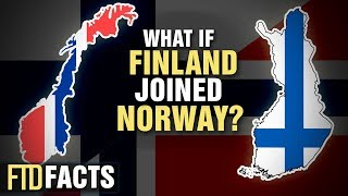 What if FINLAND and NORWAY Became One Country?