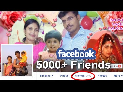 How to get 5000 plus Facebook Friends?  How to add friends after 5000 in Facebook