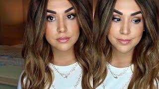 Peachy Bronze Spring Makeup | GRWM