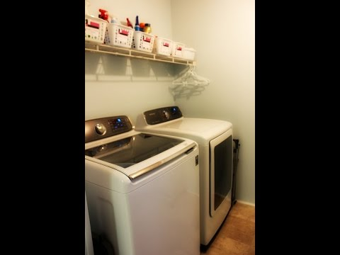 My Samsung ActiveWash Washer and Steam Dryer