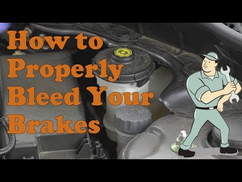 How to properly bleed your brakes