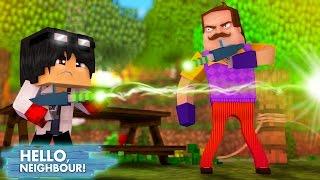 Minecraft HELLO NEIGHBOR - O VIZINHO E O WIIZINHO QUASE SE MATARAM | EP 26