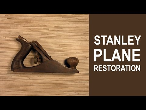 Stanley Plane Restoration | Part 1 - Disassembly and Rust Removal