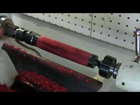 Turning Cigar Holder Tube on Wood Lathe