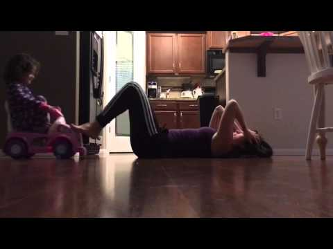 Stay at home mom workout