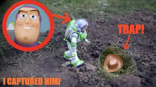 I CAPTURED BUZZ LIGHTYEAR IN REAL LIFE! *Toy Story 4* Part 2