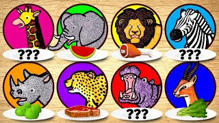 Carnivore vs Herbivore | Learn What Zoo Animals Eat for Children