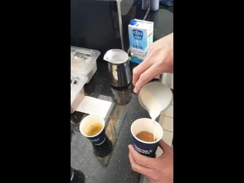 Barista waynes coffee riyadh