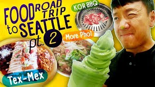 Seattle Move Part 2! TEX MEX & All You Can Eat Korean BBQ