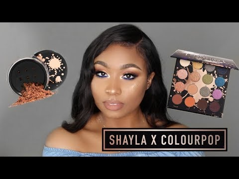 MAKEUPSHAYLA X COLOURPOP TUTORIAL & FIRST IMPRESSIONS   Kathryn Bedell