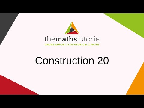 Construction 20. Parallelogram, given the length of the sides and the measure of the angles