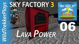 FTB Sky Factory 3 ep05 - Redstone seeds from mystical