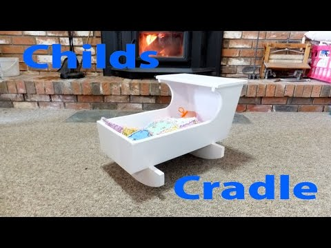 How to Make a Child's Doll Cradle -  woodworkweb