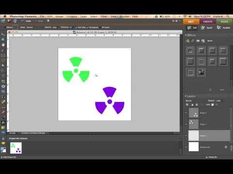 Photoshop Elements Lesson: Principle of Balance