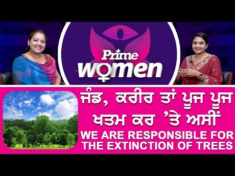 Prime Women #36_We Are Responsible For The Extinction Of Trees
