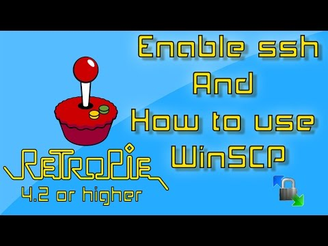 RetroPie Enable ssh And How To Use WinSCP To Transfer Files