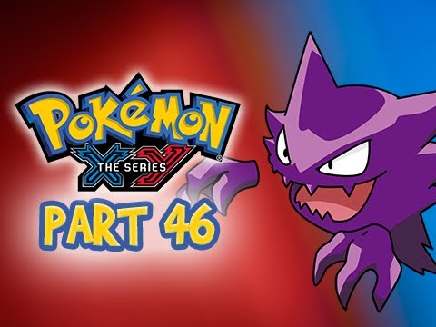 Pokemon X and Y Gameplay Walkthrough Part 46 - Route 14 HAUNTER 3DS Let's Play