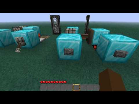 Minecraft Piston Logic Gates and Circuits