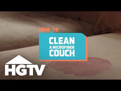 How to Clean a Microfiber Sofa - How to House - HGTV
