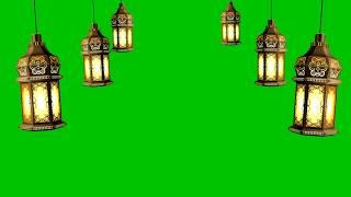 Green Screen Islami Lampu | Latern Green Screen