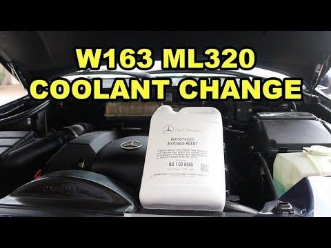 Mercedes-Benz ML320 (W163) Radiator Fluid Change