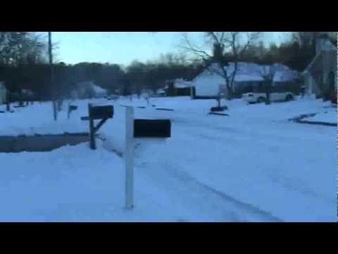 snowy roads in greensboro