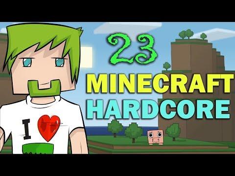 ч.23 - Адская черепушка - Minecraft Хардкорное выживание