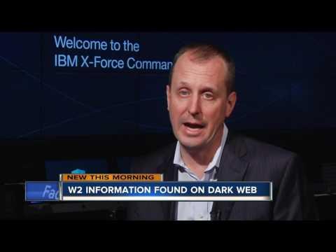W2 information found on the dark web