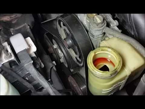 Changing Power Steering fluid, quick and easy!