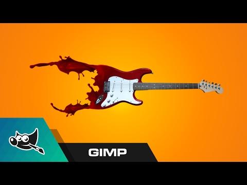 GIMP Tutorial: Liquid Dispersion Effect