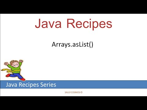 Arrays asList()  static  Method Internals