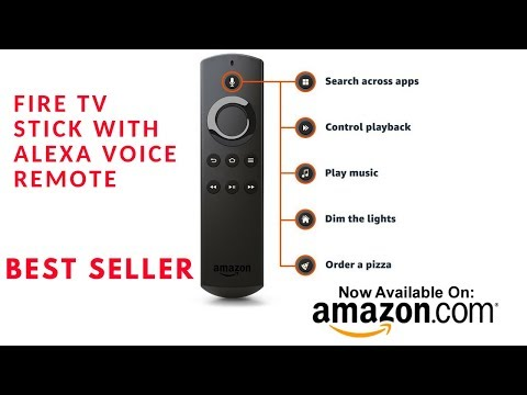 Fire TV Stick with Alexa ||Voice Remote||