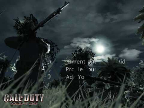 Call of Duty World At War Friend Code [Wii]