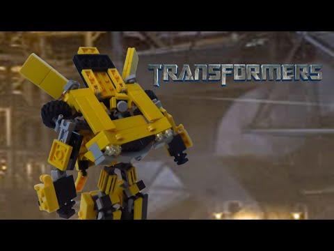Lego Transformers (2007)- Bumblebee (Old Camaro)