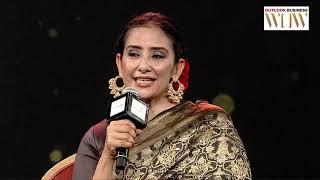 N Mahalakshmi in conversation with Manisha Koirala - Outlook Business | WOW 2019 Bengaluru