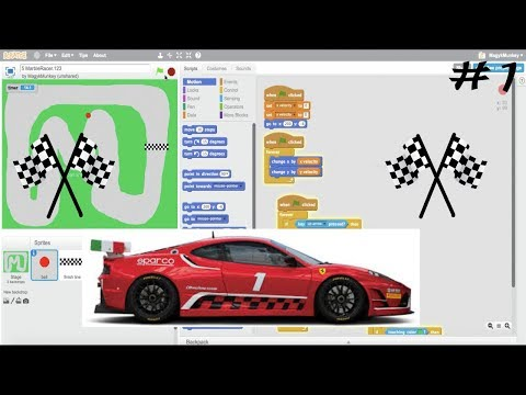 How to Make a Racing Game in Scratch | Part 1/3