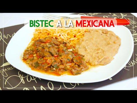 BISTEC A LA MEXICANA / RANCHERO (receta - facil) | Mirem Itziar ❤